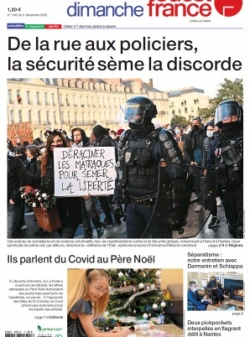 DIMANCHE OUEST FRANCE (CHATEAUBRIANT-ANCENIS) 2020