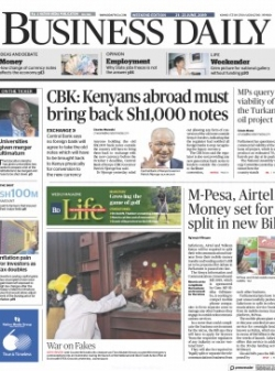 BUSINESS DAILY (KENYA) 2021